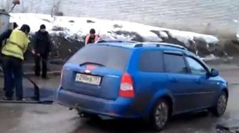 0876 - Российские дороги попали в десятку худших в мире