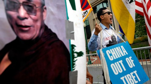 102848926 - 18-летний монах в Тибете погиб от самосожжения