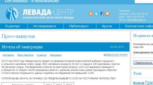 1111 12 - Число россиян, желающих эмигрировать, растёт