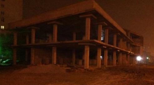 111 44 - В Екатеринбурге рухнул недостроенный торговый центр