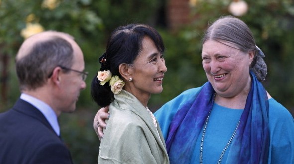 146559564 - Су Чжи посетила университет, где училась в 1970-х