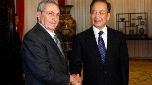 147903847 - Кастро встречается с китайским премьер-министром