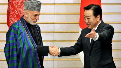 148059601 - Хамид Карзай встретился с императором Японии