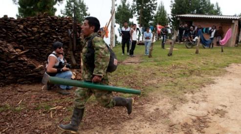 148246910 - Повстанцы ФАРК сбили военный самолет Колумбии