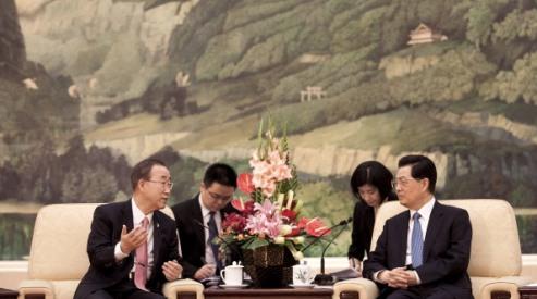 148483401 - Пан Ги Мун обсудит сирийский конфликт в Китае