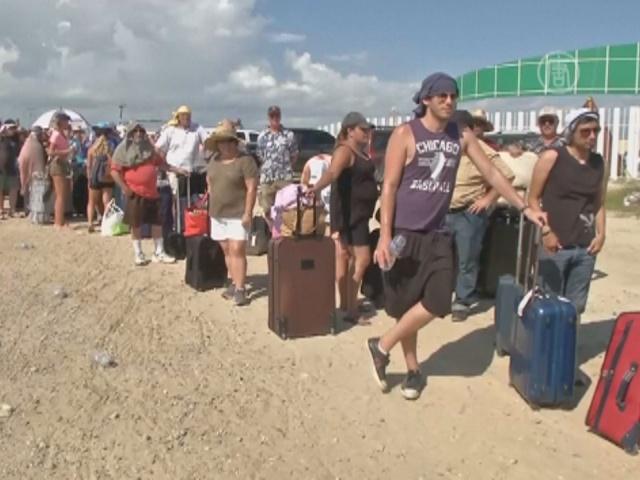 14 09 19 mexico - Туристы застряли в Мексике после урагана