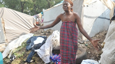 155022583 - Последствия урагана «Сэнди» на Гаити
