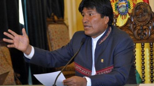 160639865 - Боливия: Моралес будет баллотироваться на 3-й срок