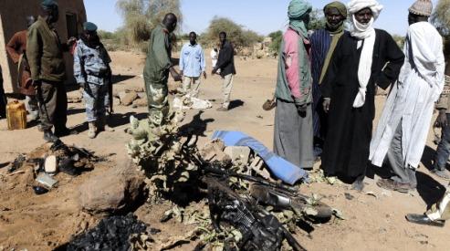 160998595 - В городе Гао на севере Мали вновь идут бои