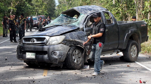 161334631 - В Таиланде сепаратисты напали на военную базу