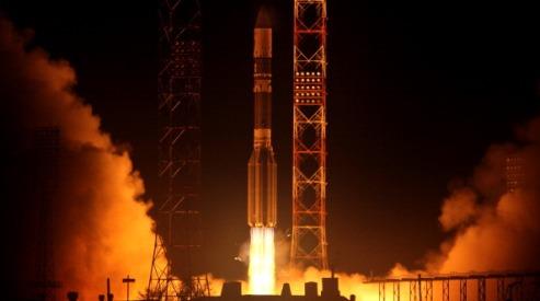 166720695 - Военный спутник успешно выведен на орбиту