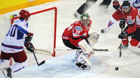168662606 - Россия забила восемь шайб в матче ЧМ-2013 с Австрией