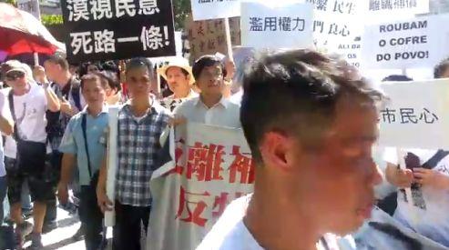 1 792 - 20-тысячные протесты охватили Макао