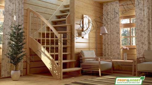 2 408 - Деревянные лестницы для дома