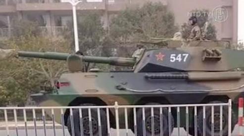 345 0 - Передвижение войск в Китае - сигнал к войне?
