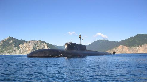 3 202 - Пожар на атомной подлодке «Томск» локализован