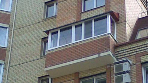 3 233 - Остекление балконов в Самаре