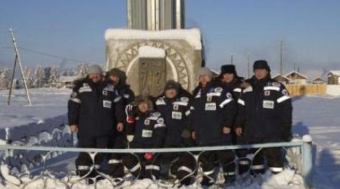 456 6 - В Якутии дайверы установили рекорд Гиннеса