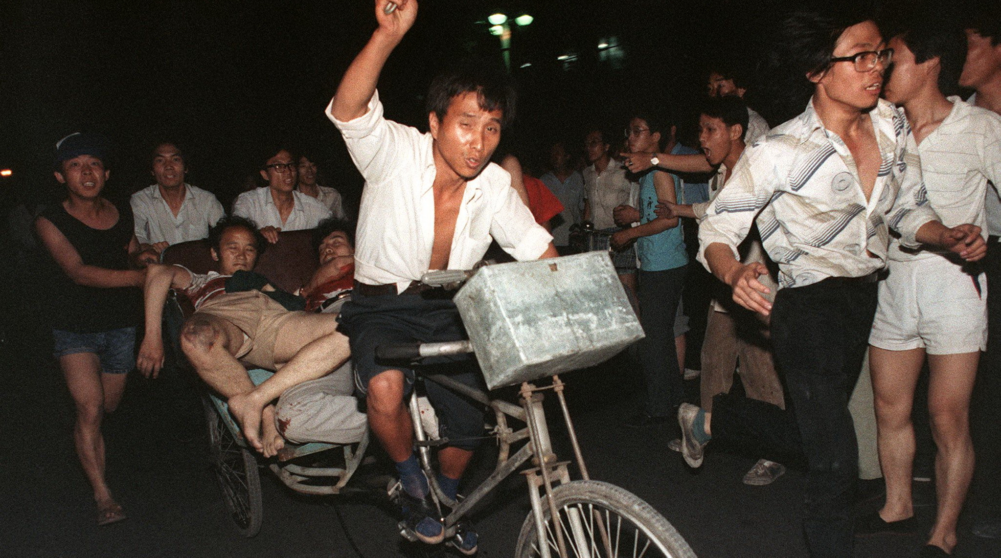 51345651 - В КНР требуют рассекретить информацию о бойне на Тяньаньмэнь