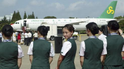 53251194 - Spring Airlines - конкурент авиа-гигантов в Китае?
