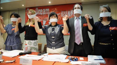 80925571 - Журналисты Гонконга: свобода прессы уничтожается