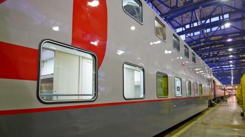 dvuhetazhnyy vagon03 h900 - В России появятся двухэтажные пассажирские вагоны