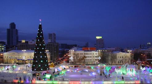 ekaterinburg - Екатеринбуржцы обменяются новогодними подарками