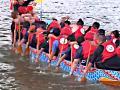 Тайваньцы соревнуются на драконьих лодках
