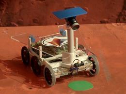 Марсоходы посостязались в ловкости и быстроте