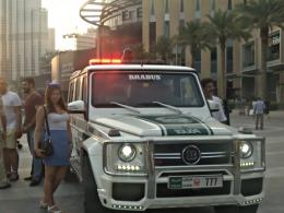 Bugatti, Lamborghini и Bentley пополнили автопарк полиции Дубая
