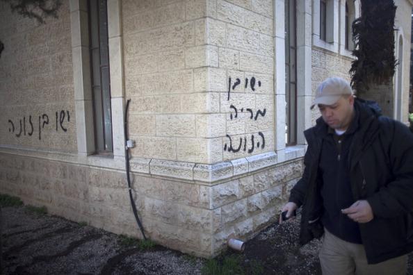 осквернения христианских объектов в Иерусалиме