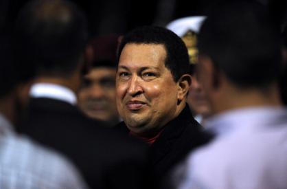 Уго Чавес возвращается в Каракас после лечения на Кубе | Хуан Баррето/AFP/Getty