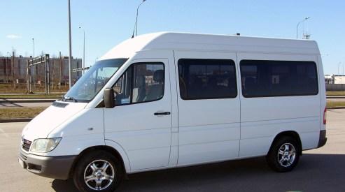 mercedes sprinter - Рынок микроавтобусов. Россия и мир