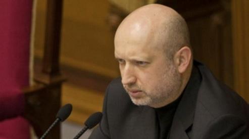 turchinov - Украина просит Совбез ООН урегулировать ситуацию в Крыму