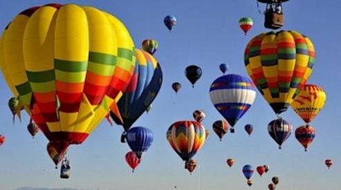 vozdushnye shary - Фестиваль воздушных шаров увидят в Геленджике