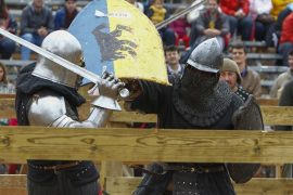 Россияне победили на турнире по средневековому бою