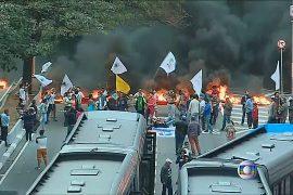 Сторонники Русеф вышли с протестами по всей стране