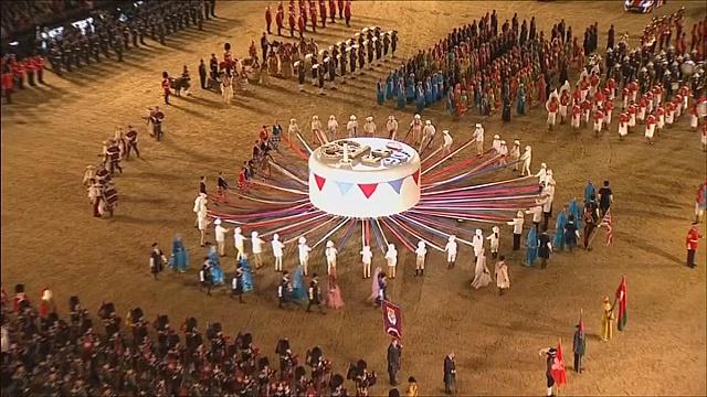Юбилей Елизаветы II отпраздновали грандиозным шоу