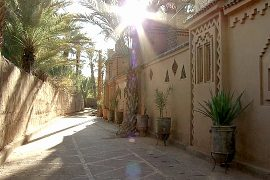 Оазис в Марокко отрезан от туристов