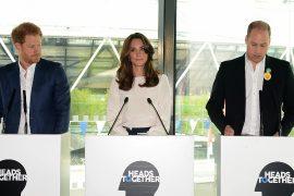 Королевская семья выступает за здоровую психику