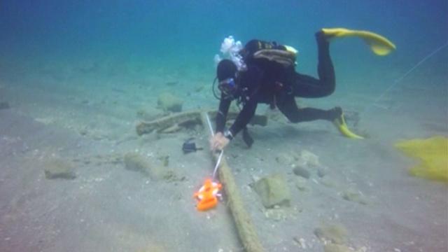 В Израиле нашли 1600-летний римский корабль