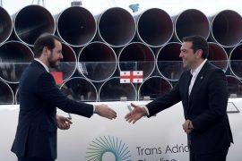 Трансадриатический трубопровод: церемония в Греции