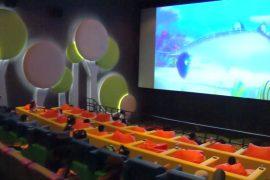 Кинотеатр для детей открылся в Индонезии