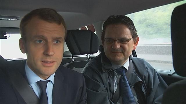 Французский министр испытал машины с автопилотом