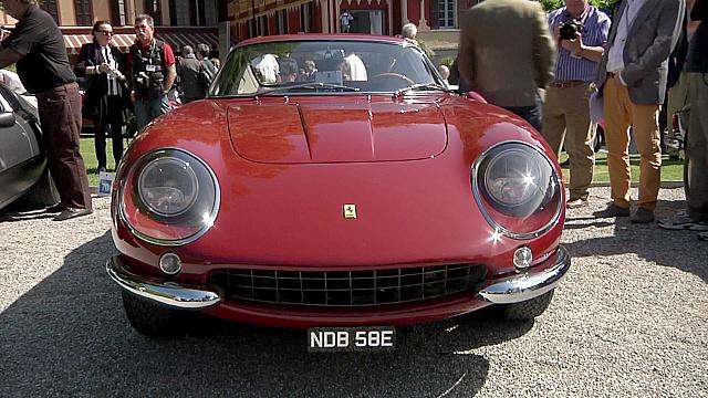 Раритетные авто кинозвёзд представили в Италии