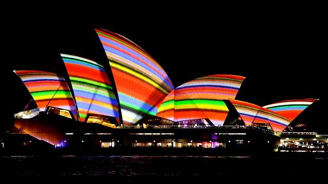 Фестиваль света озарил Сидней