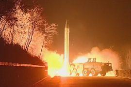 Пхеньян провёл испытания баллистической ракеты
