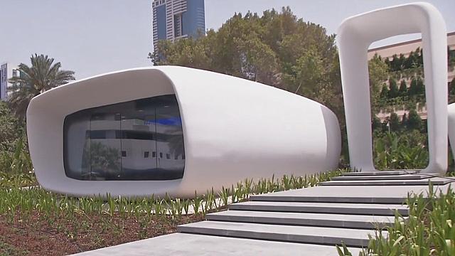 В Дубае появился офис, напечатанный на 3D-принтере