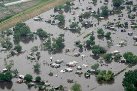 «Большая вода» не отступает в Германии и Франции