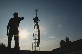 Два индийца соорудили бюджетную ветряную турбину